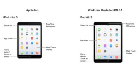 iPad Air 2 y iPad Mini 3