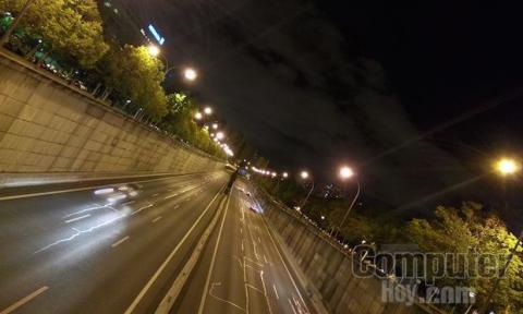 Foto nocturna Meizu