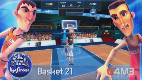 All Star Liga Endesa, el juego oficial de basket para móvil.