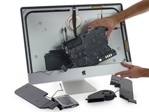 iMac Pantalla Retina 5K por dentro