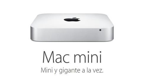 La memoria RAM de los nuevos Mac Mini no se puede ampliar.