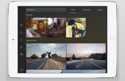Flickr para iPad