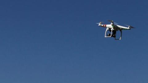 control aéreo de drones