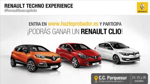 Prueba la tecnología de Renault este fin de semana en Madrid