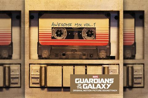 Banda sonora guardianes galaxia