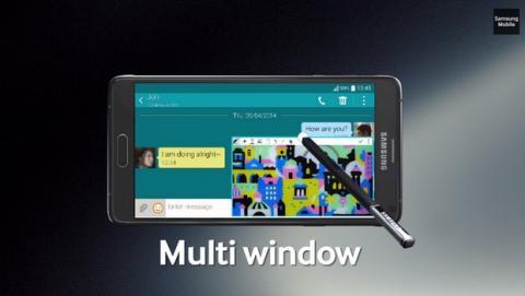 Samsung Galaxy Note 4 artistas (video)