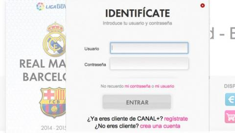 ver Madrid Barcelona online