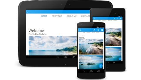 Jimdo, la app para crear tu propia página web desde el smartphone o la tablet.