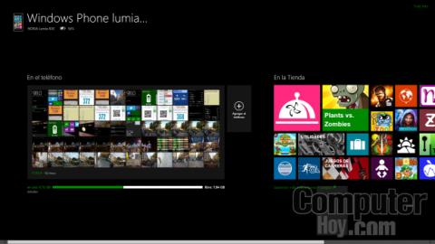 aplicación Windows Phone para PC