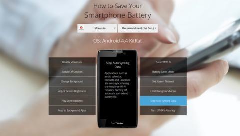 Cómo ahorrar batería según tu marca y modelo de smartphone