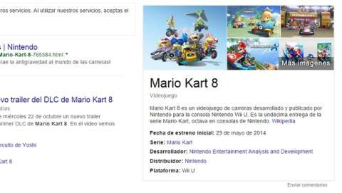 El Buscador de Google es ahora una enciclopedia de videojuegos, gracias al Gráfico de Conocimiento.