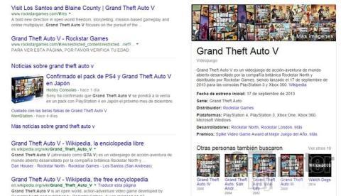 Buscador Google videojuegos
