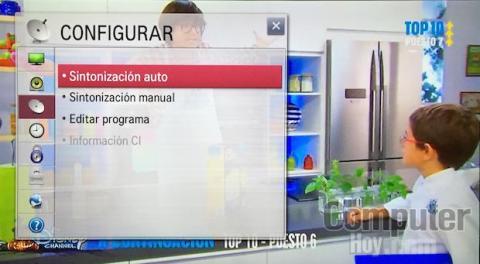 resintonizar televisión LG