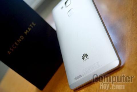 Huawei Ascend Mate 7 sensor de huellas