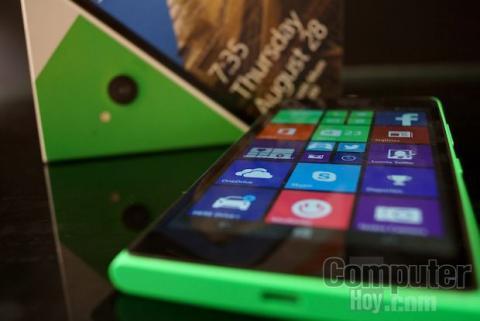 Pantalla Lumia 735