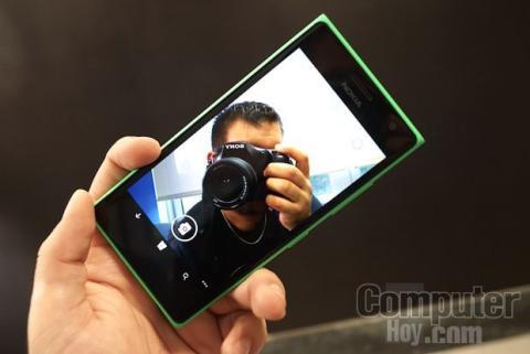 Cámara Lumia 735