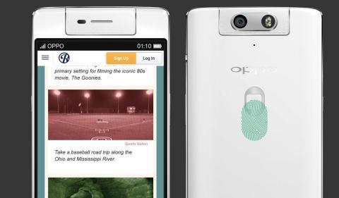 Sensor huellas Oppo N3