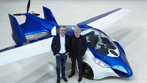 El coche volador, cada vez más cerca: así es su prototipo