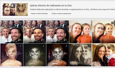Google+ Halloween