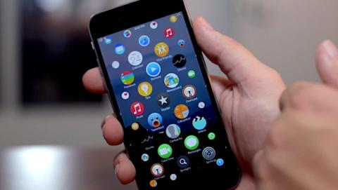 Interfaz de Apple Watch en iPhone