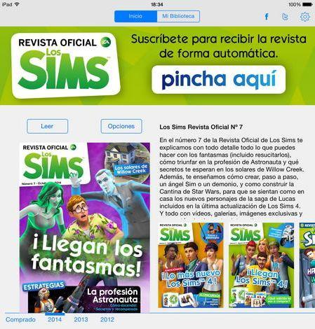 Revista Oficial Los Sims
