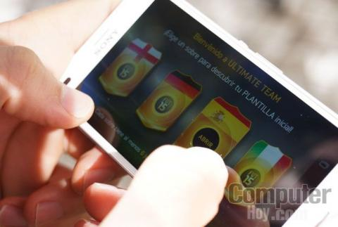 Sony Xperia Z3 Compact juego