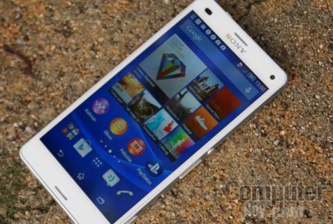 Sony Xperia Z3 Compact pantalla