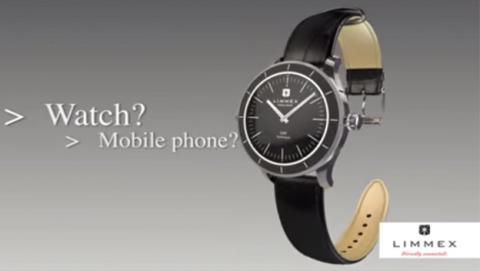 Limmex: El reloj analógico capaz de llamar a emergencias