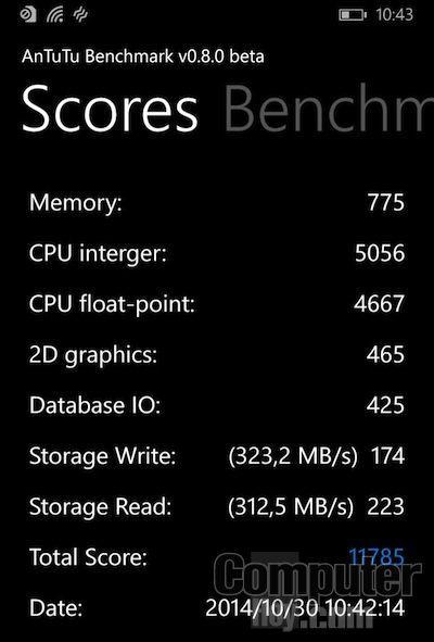 Antutu Lumia 735