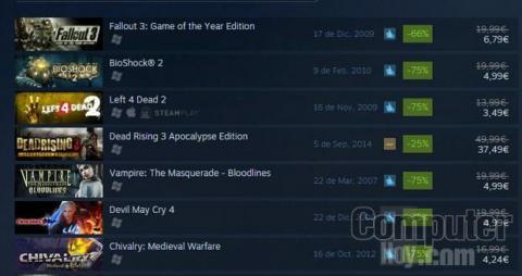 Steam Rebajas de Halloween