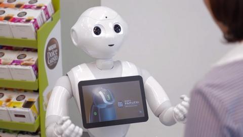 Nestlé sustituye a George Clooney por robot Pepper para vender café Nescafé.