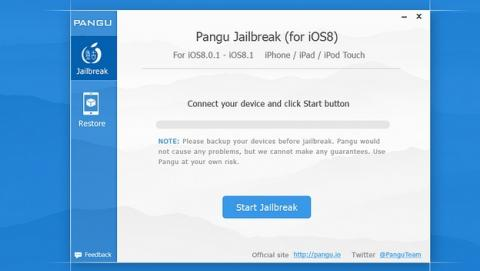 Jailbreak para iOS 8 Pangu 1.1 se actualiza, añade Cydia y traducción al inglés.