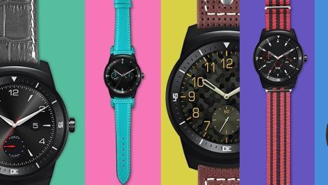 El smartwatch LG G Watch R ya a la venta en España, 279€.