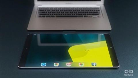 El iPad Pro de 12..2 pulgadas, más fino que el iPhone 6 Plus, con vista panorámica y altavoces estéreo de Beats.