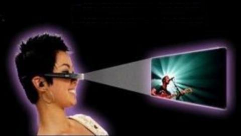 Google patenta unas gafas Google Glass con proyector incorporado
