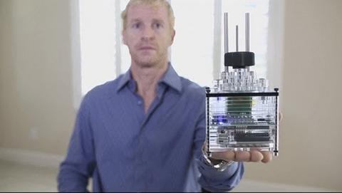 iBox Nano, impresora 3D barata de resina que cabe en tu mano y sólo vale 215€.