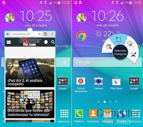 Samsung Galaxy Note 4 Air Command