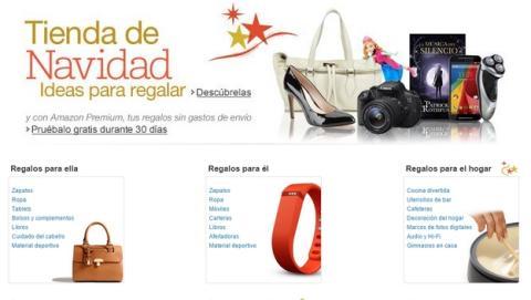 Amazon España abre su Tienda de Navidad con miles de artículos de regalo para estas navidades.