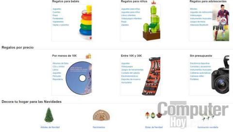 Tienda de Navidad de Amazon España