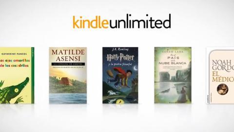Amazon lanza Kindle Unlimited: 700.000 libros por 9,99€/mes