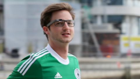 runner google glass