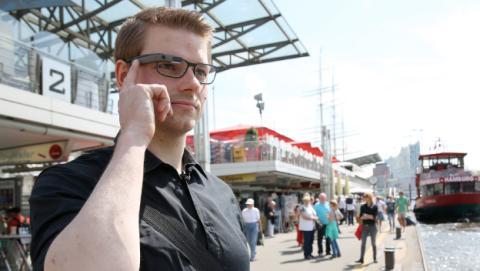 Turista Google Glass