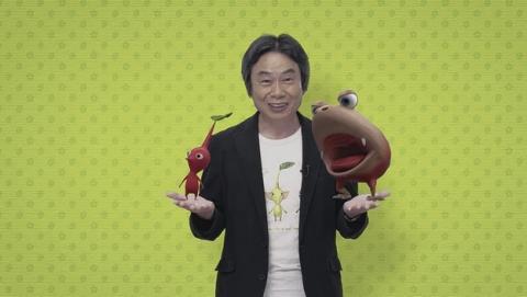 Shigeru Miyamoto, el creador de Mario, se pasa al cine con la creación de unos cortos cinematográficos de los Pikmin.