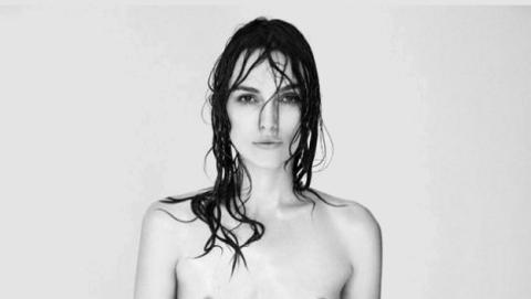 Keira Knightley en topless para protestar contra los retoques de imagen con Photoshop.