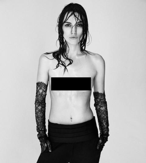 Keira Knightley en topless
