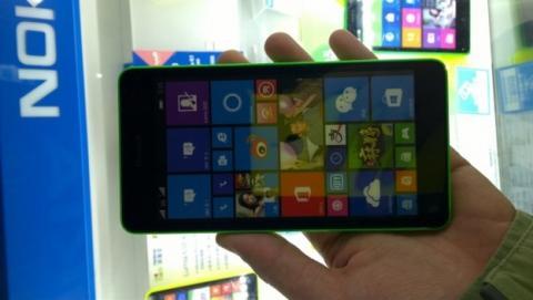 Este es el Microsoft Lumia 535, el primero sin el logo de Nokia