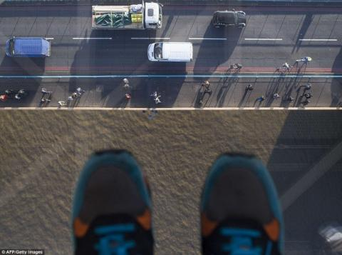 pasarela de cristal Puente de la Torre de Londres
