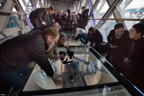 Pasarela de cristal Puente de Londres