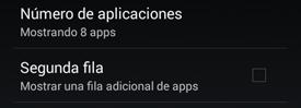 Configuración aplicaciones