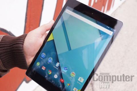 Nexus 9 frontal